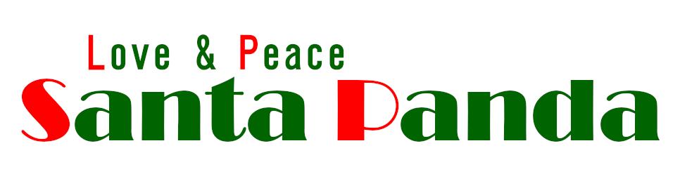 Love & Peace SantaPanda